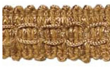 Tassle Fringe  -  Old Gold E16 - Value Pack 16.1/2 mtrs